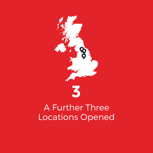 further three locations added